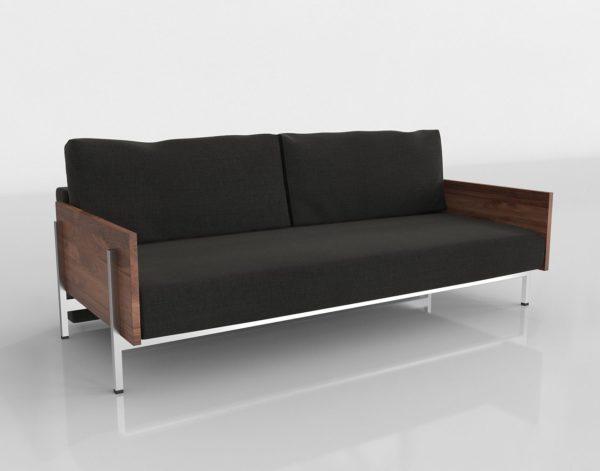 Sofá Cama 3D CB2 Exton