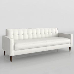 Sofá 3D Design Within Reach Bantam