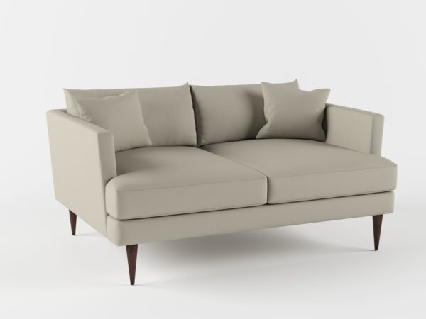 Sofá 3D Biplaza Living Spaces Adeline