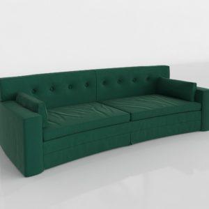 Sofá 3D Living Spaces Grand Sofa