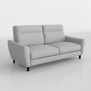 Sofá 3D Scandinavian Designs Regine