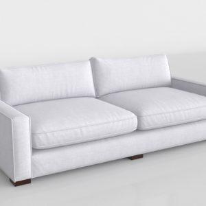 Sofá 3D de Tela Durham