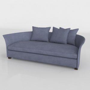 Sofá 3D Diseño Medialuna