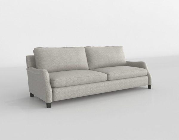 Phenomenal 3D Paxton Upholstered Sofa Arhaus Glancing Eye Customarchery Wood Chair Design Ideas Customarcherynet