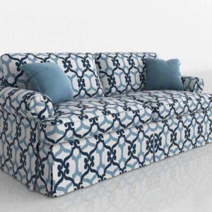 Sofá 3D Biplaza RBLD Furniture Tapizado