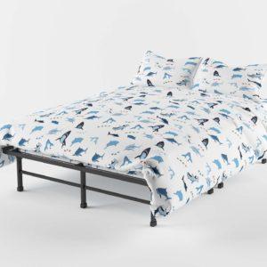 Shark Bite Sheet Set Bedding Decoration