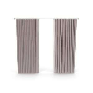 Cotton Luster Curtain