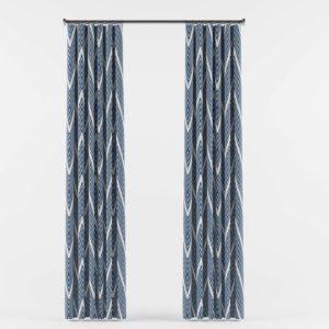 Tribal_ Chevron Curtains