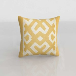 Pillow Maze Throw Pillow