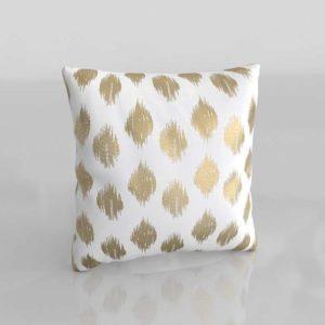 Behan Dot Cotton Throw Pillow