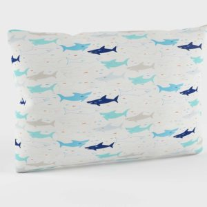 Organic Shark Bait Pillowcase