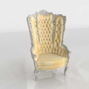 DIY Lux Antique French Provincial Chair Classic Style