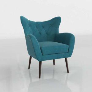 Bouck Wingback Chair Wayfair