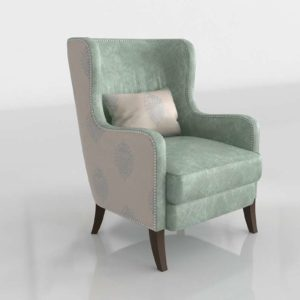 Silver Lake Wing Chair Star Furniture