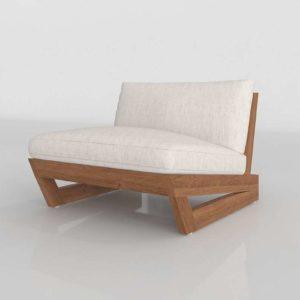 Sunset Chair 3D Model