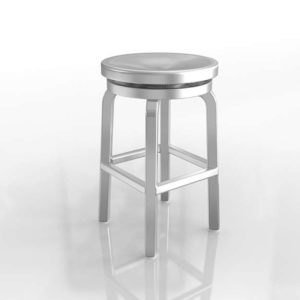 Spin Swivel Backless Counter Stool Crate&Barrel