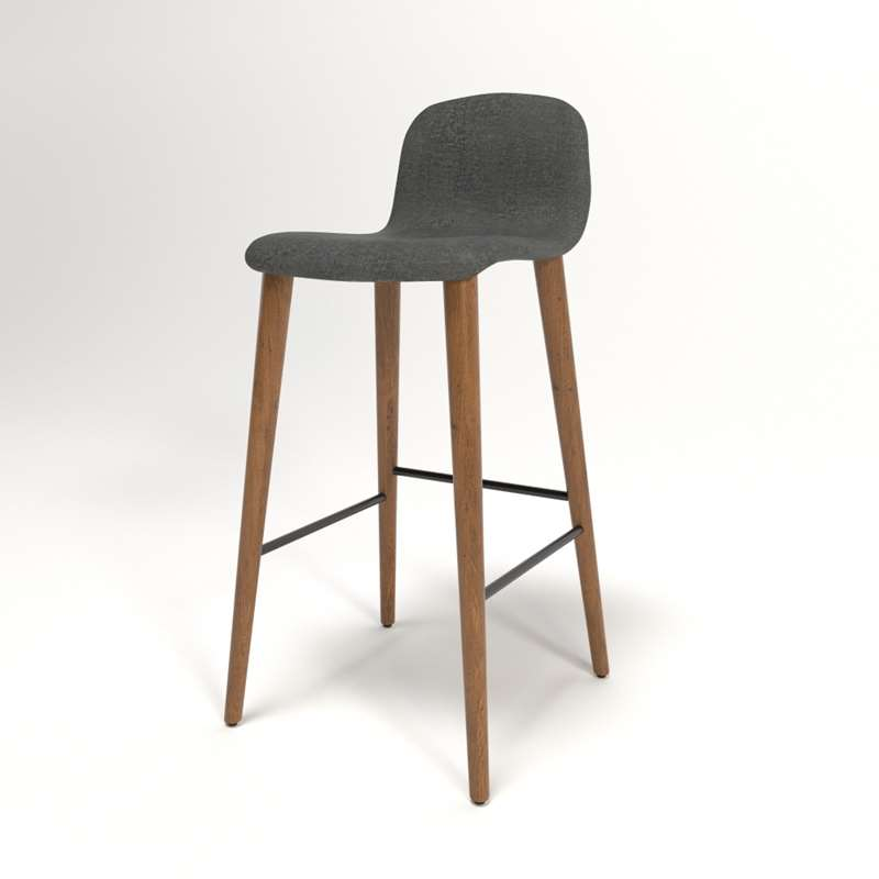 Sensational Bacco Bar Taburete 3D Dwr Onthecornerstone Fun Painted Chair Ideas Images Onthecornerstoneorg