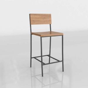 Rustic Counter Stool West Elm