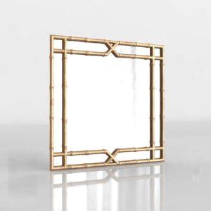 Jasmine Bamboo Mirror PotteryBarn