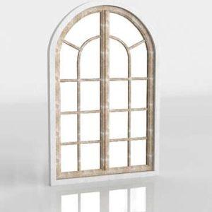 Conservatory Arch Mirror Wisteria