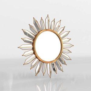 Starwyn Sunburst Midcentury Wall Mirror