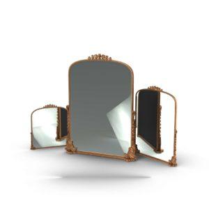 Gleaming Primrose Mirror ExtraSmall Anthropologie