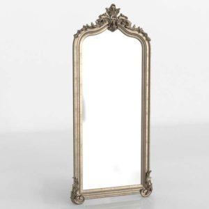 Silver Leafed Wall Mirror Wayfair