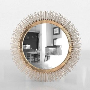 Clarendon Round Wall Mirror