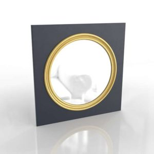 18th EnglishRegency Convex Mirror