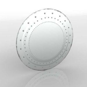 18thC Venetian Round Mirror RH