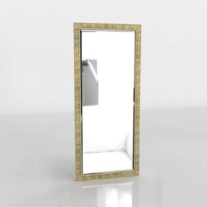 Birch Floor Mirror CrateAndBarrel