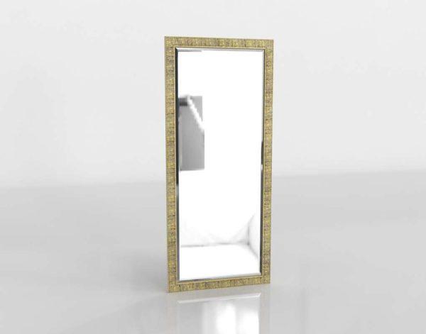Birch Floor Mirror CrateAndBarrel
