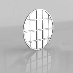 Eagan Multipanel Roun Mirror PotteryBarn