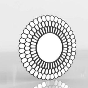 Talla Geometric Decorative Wal Mirror