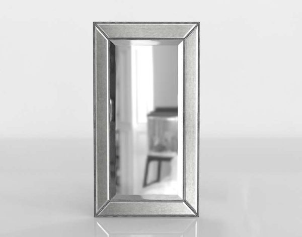 Beaded Wall Mirror Bassettmirror