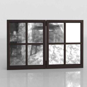 Mirror Cabinet TV PotteryBarnl