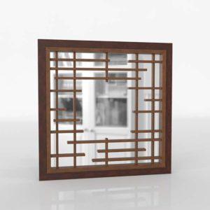 Mikasa Square Dresser Mirror