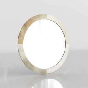 Round Hide Mirror