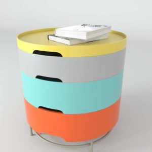 Mesita 3D con Cajones IKEA Multicolor