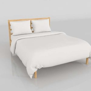 Cama 3D IKEA Tarva Luroy