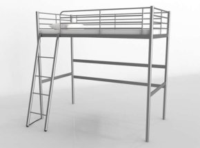 Svarta Loft Bed IKEA