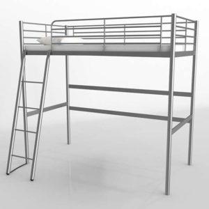 Cama Superior 3D IKEA Svarta Loft