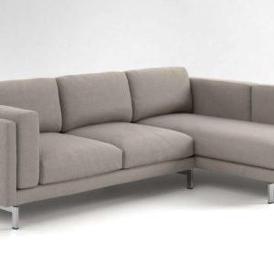 Sofá 3D Seccional IKEA Nockeby
