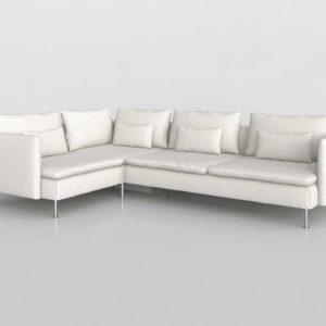 Sofá 3D Seccional IKEA Soderhamn