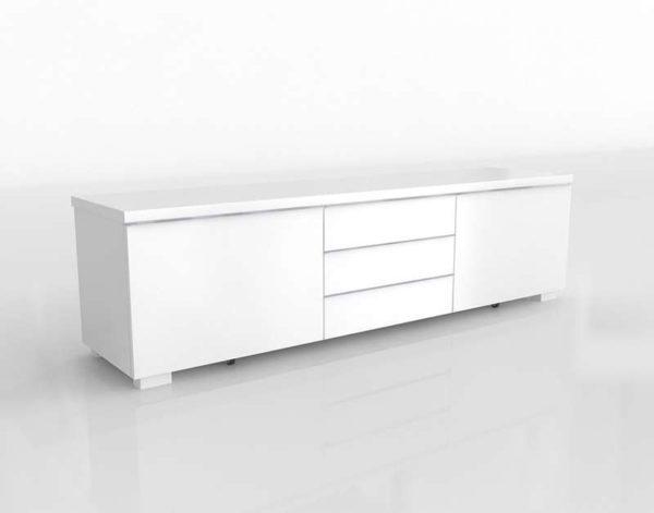 Mueble de TV 3D IKEA Besta