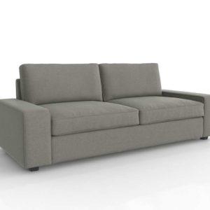 Sofá 3D IKEA Kivik Gris