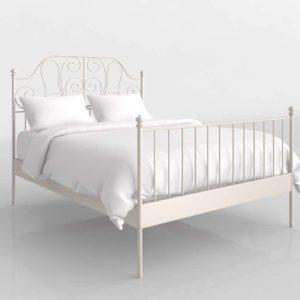Cama 3D IKEA Leirvik