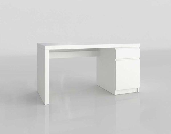 Escritorio 3D IKEA Malm