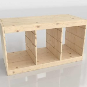 Mueble Organizador 3D IKEA Trofast
