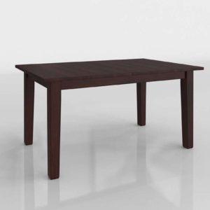 Mesa de Comedor 3D Extensible IKEA Stornas